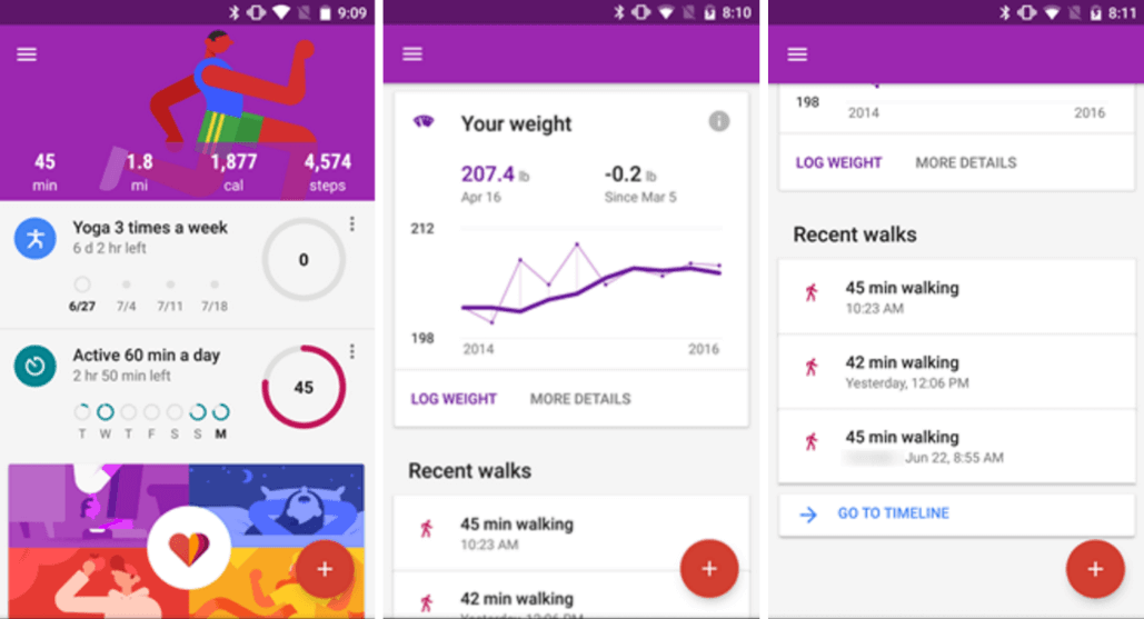 Google Fit - Fitness Tracking App