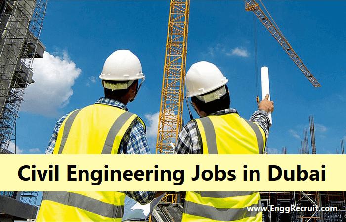 Salary of Civil Engineering Jobs in Dubai for Freshers 2021